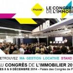 Ma Gestion Locative au Congrès de l'Immobilier 2014