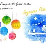 Joyeuses Fêtes de Fin d'Année 2016
