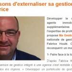 Fabrice Houlé Fait l'Actualité d'Immomatin