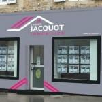 Gros Plan sur l'Agence Jacquot Immobilier Lons-Le-Saunier (Jura)
