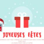 Joyeuses Fêtes de Fin d'Année 2018