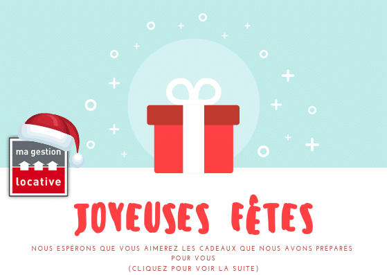 Joyeuses fêtes 2018- Equipe Ma Gestion Locative